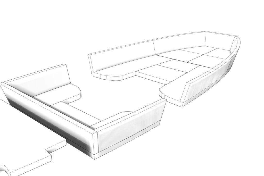 Bootkussens CAD ontwerp